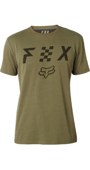 Fox Scrubbed Airline Koszulka Mężczyźni zielony